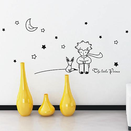 Мультфильм Маленький принц стены Стикеры Lightinthebox 1288.000