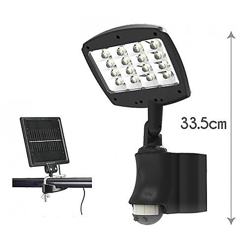 Солнечная Белый солнечных безопасности света Духов ИК датчик движения настенный светильник (цис-53358) Lightinthebox 4296.000