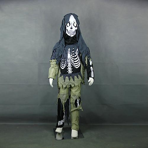 Дьявол Скелет Дети Хеллоуин костюм (для высоты 130см) Lightinthebox 1288.000