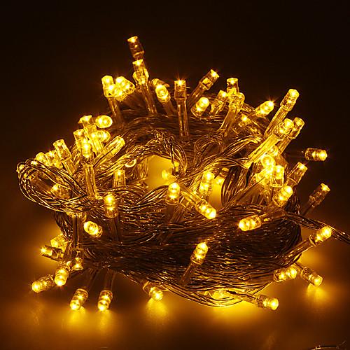 Длиной 10 м светодиодной гирлянды на Рождество украшения цвета: теплый белый Lightinthebox 558.000