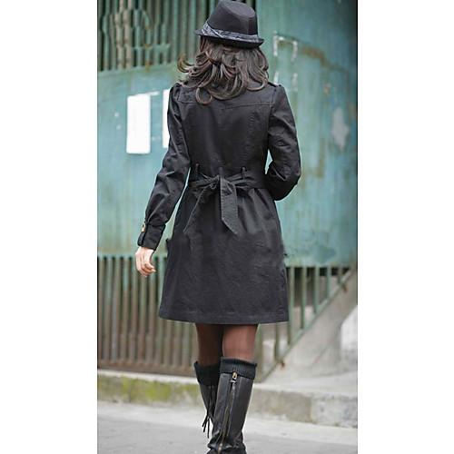 Женская мода Двухместный плащ груди Lightinthebox 1172.000