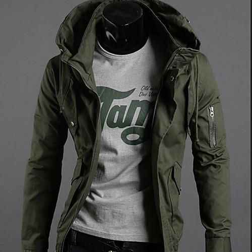 INMUR Мужская мода высокого Куртки Fit шеи Lightinthebox 1288.000
