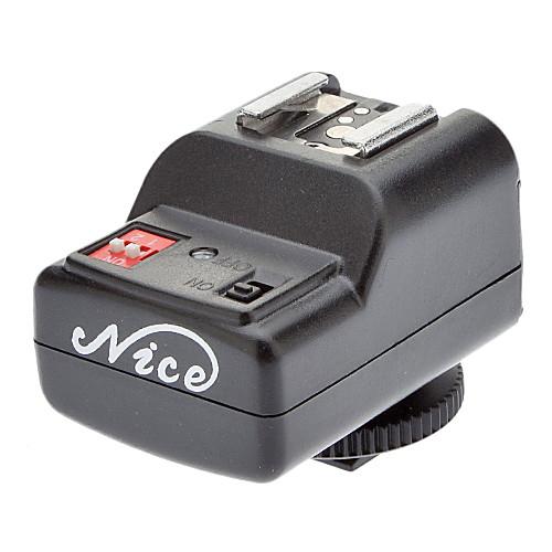 4-в-1 4-канальный 433 МГц Пульт дистанционного вспышка триггера Установить для Canon / Nikon / Pentax камера Lightinthebox 857.000