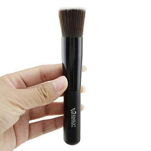Черная плоская кисточка для основы макияжа Lightinthebox 128.000