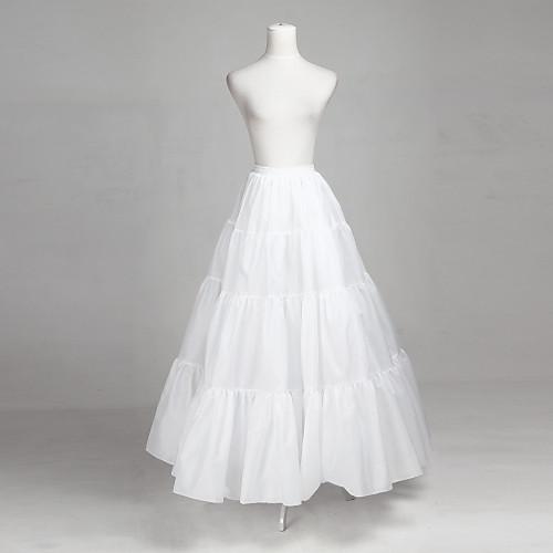 Полиэстер и тюль-Line Полная длина скольжения стиль Свадебные / Petticoat Lightinthebox 858.000