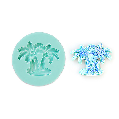 Кокосовая пальма силикона формы прессформы Торт Украшение выпечки инструмент Lightinthebox 171.000