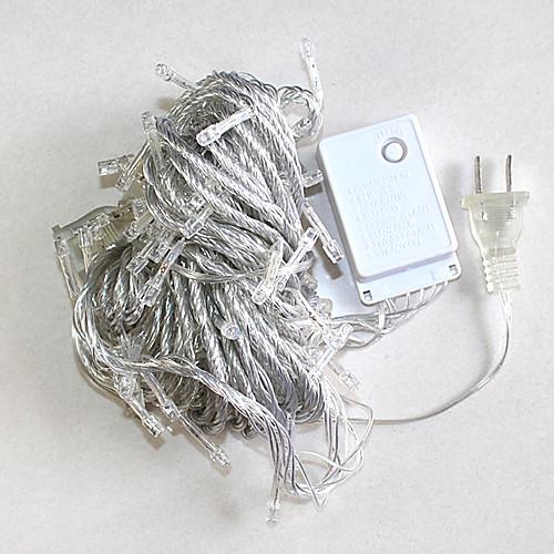 10M 100 светодиодных Белый Свет Украшение Строка для свадебных Рождественский вечер (цис-84283E)