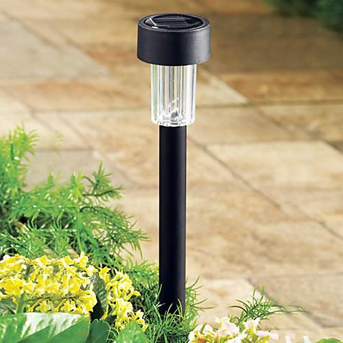 8 шт, Led сад свет солнечной, Пластиковый Солнечные лужайки свет, освещение / сад лампой, Яркий светодиодный (СНГ-57136) Lightinthebox 1288.000