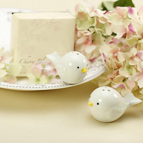 Гнездо птицы керамические соль и перец шейкеры свадьбы пользу (комплект из 2) Lightinthebox 76.000