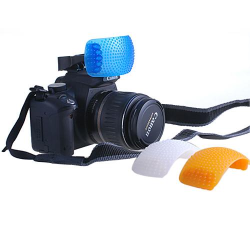 3 Цвет Всплывающие рассеиватель для Nikon Canon Sony Pentax