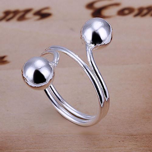 посеребренные сплава кольцо Lightinthebox 128.000