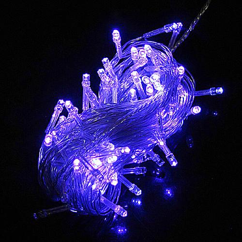 100 светодиодных 10M Blue Light украшения Строка для свадебных Christmas Party (цис-84283D)
