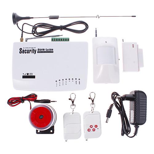 Новый беспроводной GSM Главная охранной сигнализации / Сигнализации / SMS / вызова / Автодозвон Lightinthebox 1718.000
