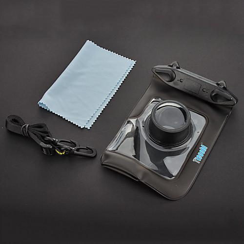 Tteoobl T-009C Водонепроницаемый защитный мешок для Canon / Panasonic / Nikon камеры - черный Lightinthebox 601.000