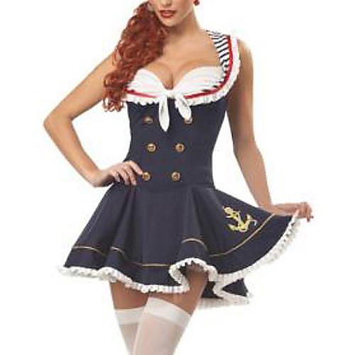 Морячка Равномерное Fancy Halloween Costume (2шт) Lightinthebox 1030.000