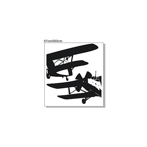 Самолет Транспорт стены Стикеры Lightinthebox 1073.000