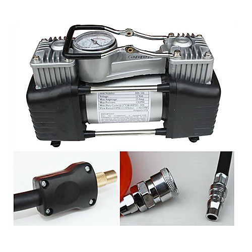 Двухцилиндровый компрессор 12V 150PSI Lightinthebox 2362.000