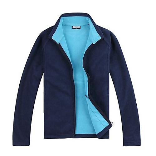 Полярной зимы женского спорта руно Solid Color Толстые теплые куртки Lightinthebox 1288.000