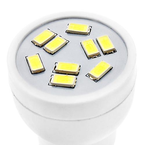 GU10 3W 9x5630SMD 240-270LM 6000-6500K Природный белый свет светодиодных шарика пятна (220-240V) Lightinthebox 171.000