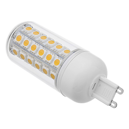 LED лампа типа Corn  (220V), теплый белый свет, G9 8W 48x5050SMD 650LM 3000K Lightinthebox 386.000