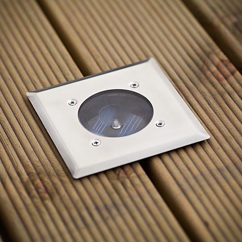 Набор из 8 белый светодиод нержавеющей стали солнечные фонари Опалубка (цис-57104) Lightinthebox 1933.000