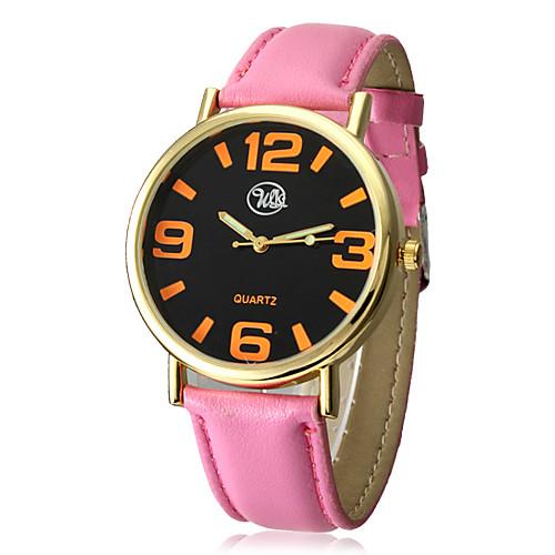 Удивительные женские цинковый сплав Дело кварцевый PU Группа аналоговые наручные часы (больше цветов) Lightinthebox 192.000