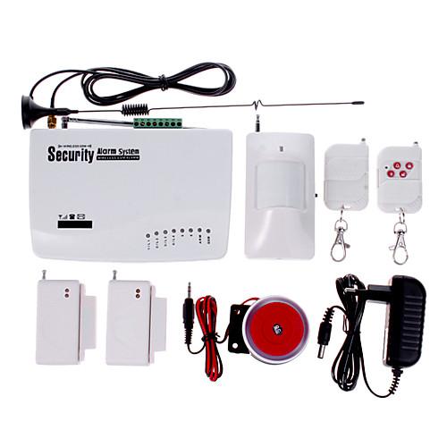 Беспроводная GSM Главная охранной сигнализации / SMS / вызова / Автодозвон с батареей 02 Lightinthebox 2405.000