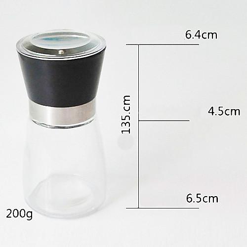 стекло мельница для перца мясорубку шейкер пряность соль контейнер Держатель приправы банку новый случайный цвет Lightinthebox 343.000