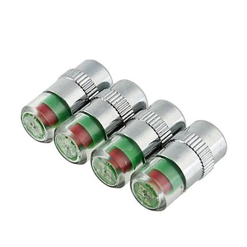 4pcs/set автомобилей контроля давления в шинах клапана Cap датчика Индикатор глаз оповещения Lightinthebox 257.000