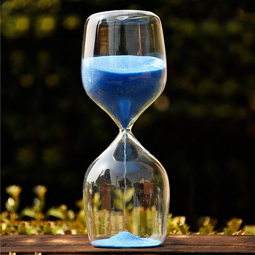 Стеклянные песочные часы с синего песка Lightinthebox 489.000