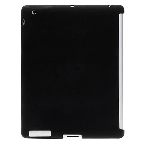 Черный силиконовый чехол с мягкой Прозрачная пленка для защиты экрана и стилус для Ipad 2/3/4