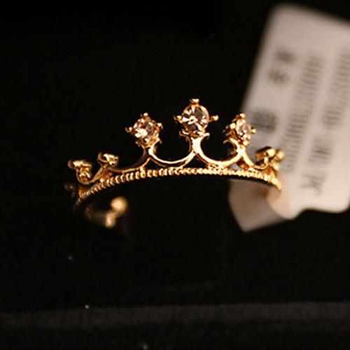 Задушить малый перец Малый Лори Бриллиантовая корона кольцо Lightinthebox 85.000