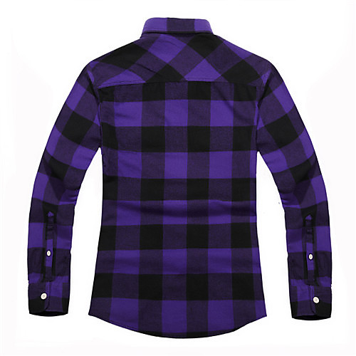 Изящные Пледы Мужчины печатные рубашки Lightinthebox 977.000
