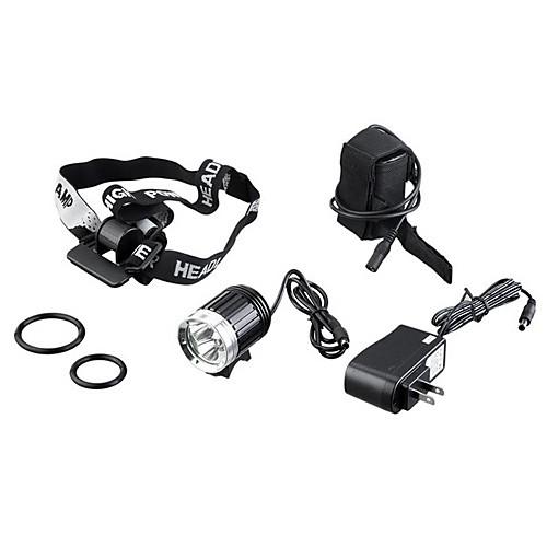 Комплект из 4 режимного велосипедного светодиодного фонарика и налобного фонаря 3 x CREE XM-L T6 (K3-B, 4 x 18650 Battery) Lightinthebox 2148.000