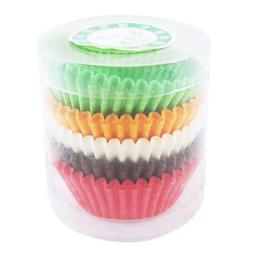 Кекс и Muffin кастрюли для Cupcake, набор из 100, Multi-Color Lightinthebox 278.000