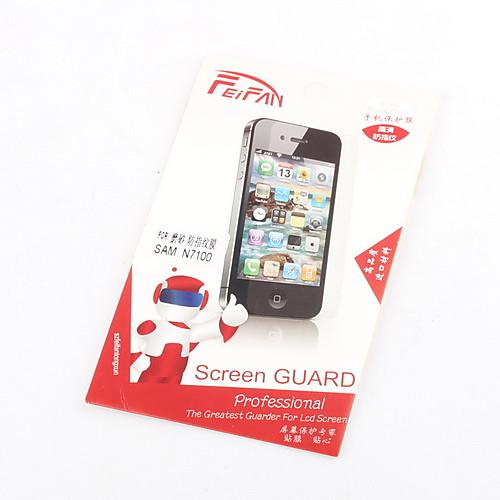 Защитные Матовый экран протектор с Ткань для очистки для Samsung Galaxy Примечание 2 N7100 Lightinthebox 171.000