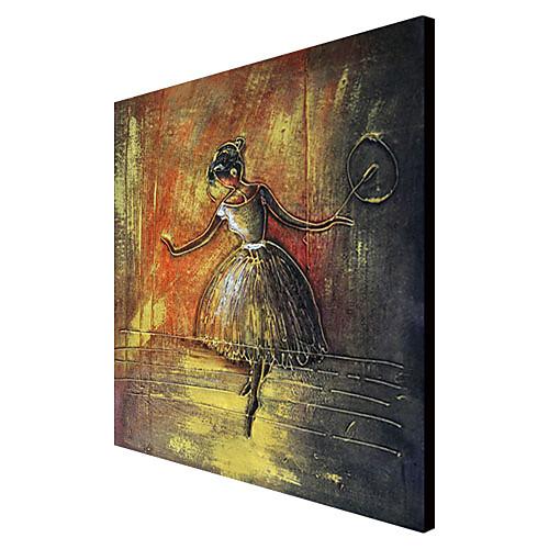 ручной росписью маслом людей танцовщицы с растянутыми Frame 1310-pe1190 Lightinthebox 3007.000