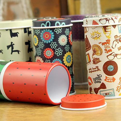 Прекрасный мини Чай канистра Проведение жестяная коробка (случайный цвет) Lightinthebox 85.000
