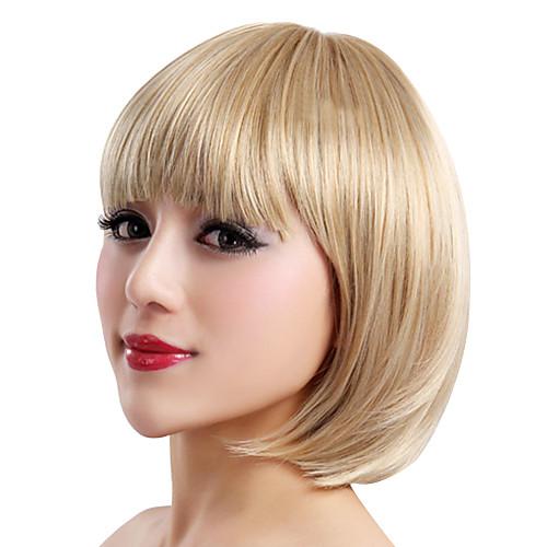 Парик из синтетических материалов с короткими волосами, блондинистый Lightinthebox 1245.000