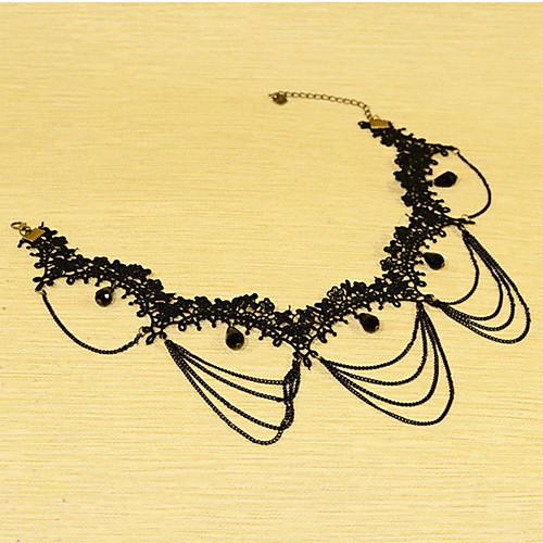 Нежные кружева с цепи ожерелье Женские Lightinthebox 180.000