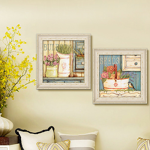 Вазы и корзины Натюрморт подставил задания печати Canvas из 2 Lightinthebox 3781.000