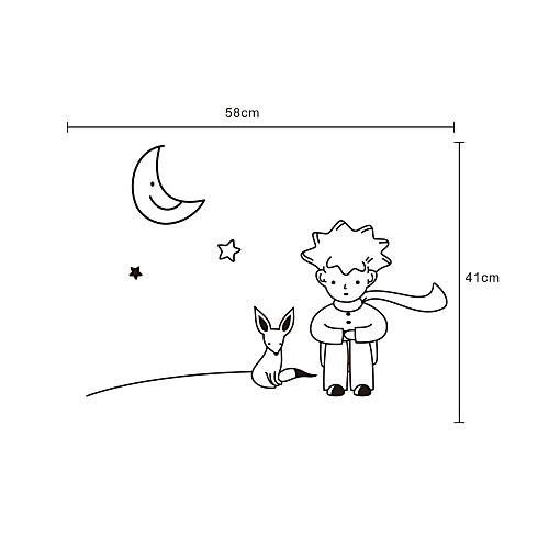Мультфильм Маленький принц стены Стикеры Lightinthebox 558.000