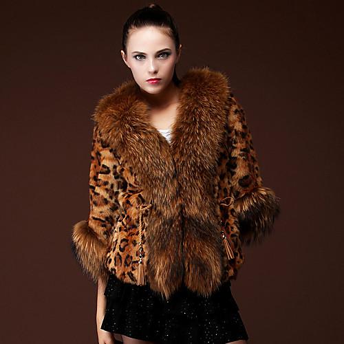 3/4 рукавом платок искусственного меха партии / случайных пальто Lightinthebox 6874.000