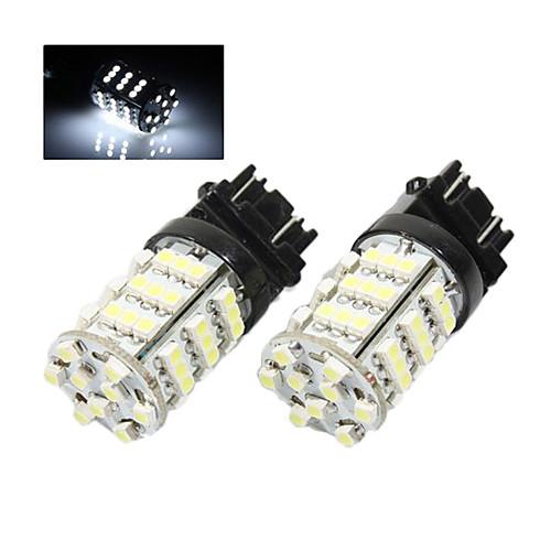Пара Brand New High Power Super White 3157 54 SMD Светодиодные лампы Lightinthebox 601.000