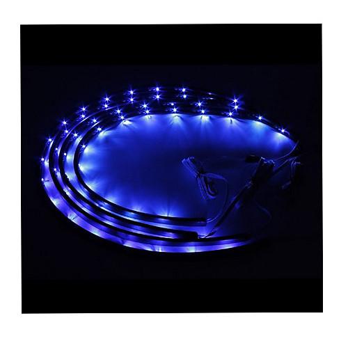 7 светодиодный Под днищем автомобиля Glow системы Neon Lights Комплект 36