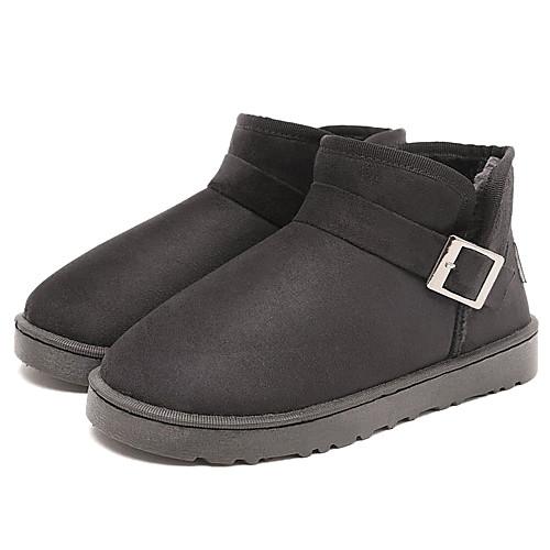 Утепленные ботинки унисекс с пряжкой Lightinthebox 944.000