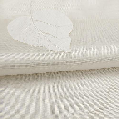 (Две панели) страна вышивка белый лист чистый занавес Lightinthebox 4941.000