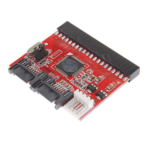 СВУ-SATA 1,5 Гбит / с с Конвертер горячей замены (красный) Lightinthebox 128.000
