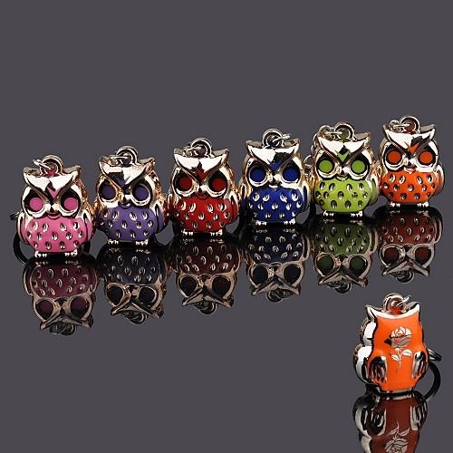металл сова стразы брелок - набор из 12 (случайный цвет) Lightinthebox 370.000