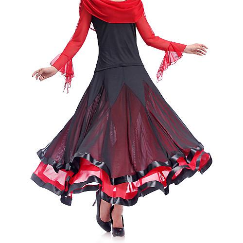 Увлекательные танцевальная одежда вискоза танца юбка для дам (другие цвета)